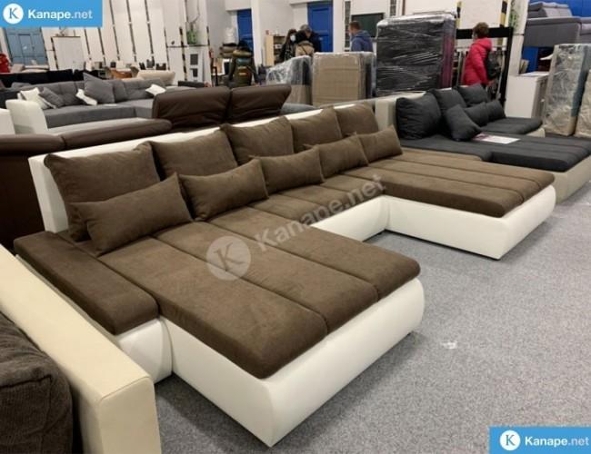 U alakú kanapé sokféle színben