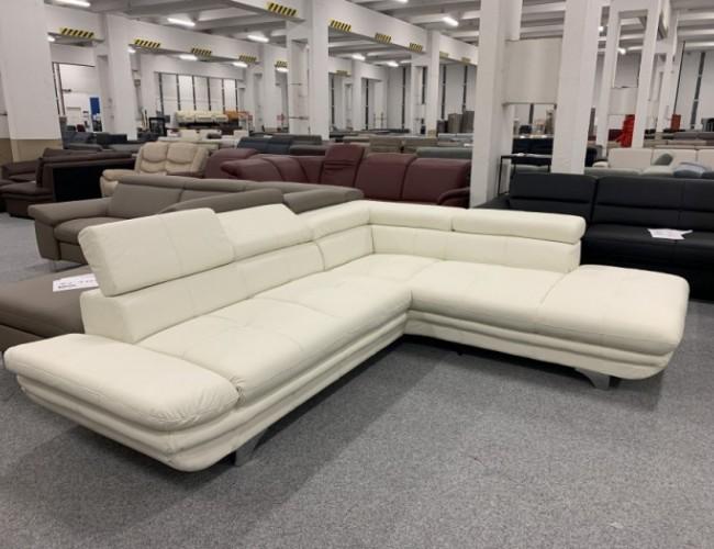 Enterprise textilbőr sarok kanapé
