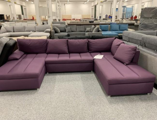Ascot boxsping U alakú kanapé