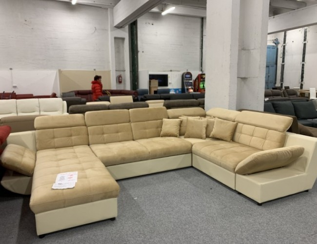 Madrid U alakú ágyazható kanapé