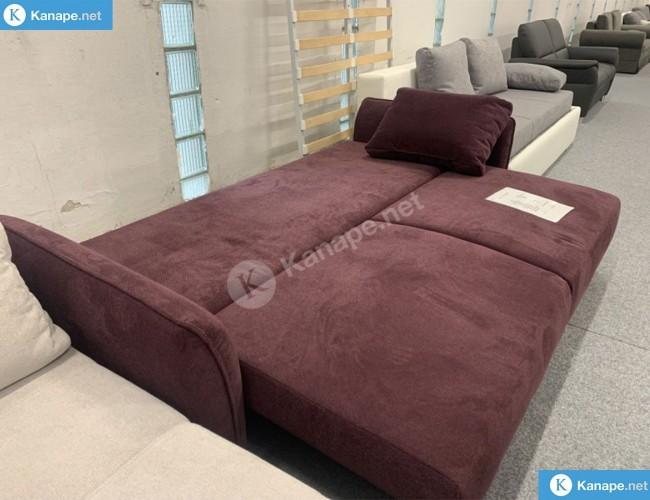 Lilla ágyazható kanapé