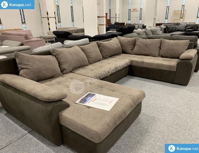 Celika U formájú ágyazható kanapé