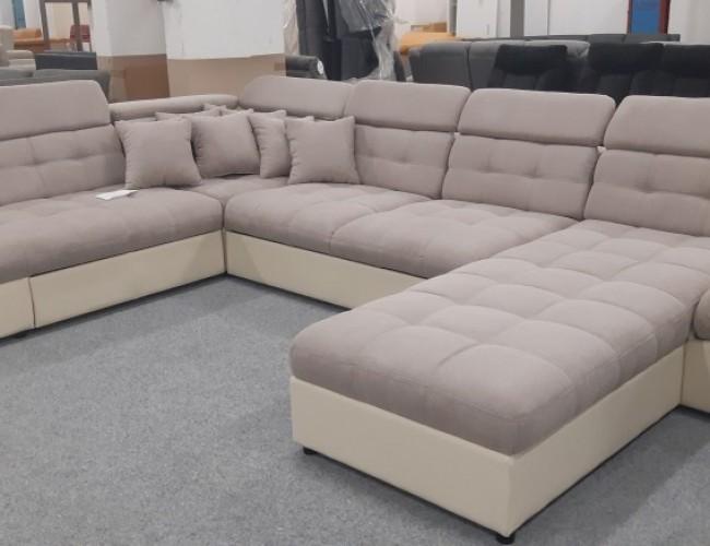 Madeira U formájú kanapé