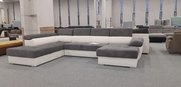 Aurora ágyazható U alakú kanapé - U alakú ülőgarnitúra
