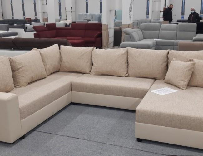 Maximo U formájú ágyazható kanapé