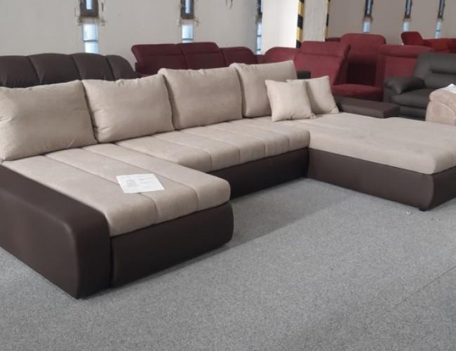 Malaga U formájú exkluzív kanapé