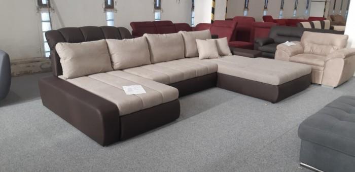 Malaga U formájú exkluzív kanapé -