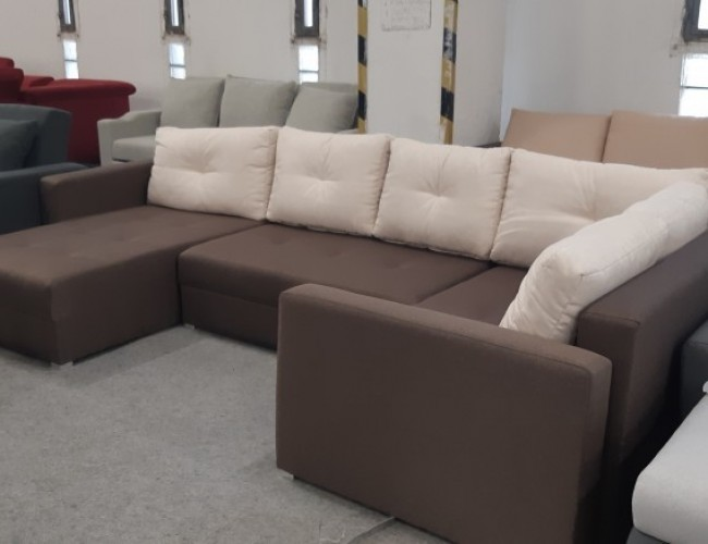 Nils U alakú ágyazható kanapé