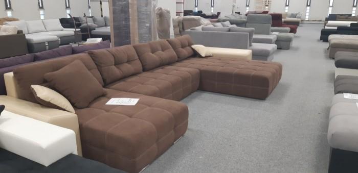 Anett ágyazható U alakú kanapé -
