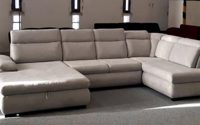 Bari I. U alakú ágyazható kanapé -