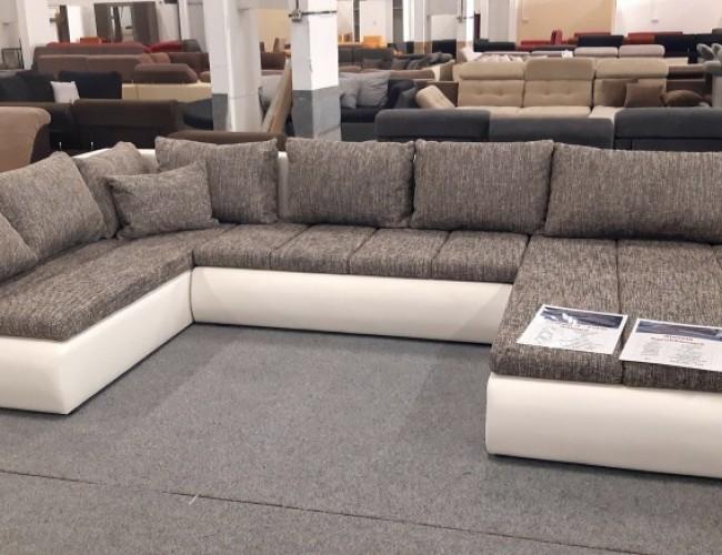 Alessia U formájú ágyazható kanapé