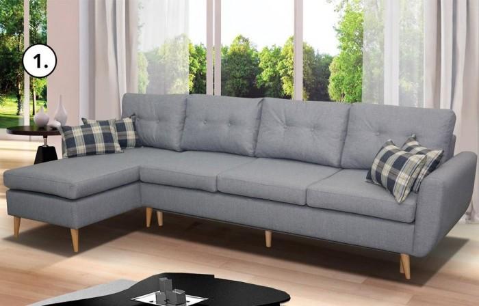 Cherry max nagyméretű sarokkanapé - Luxus kanapé