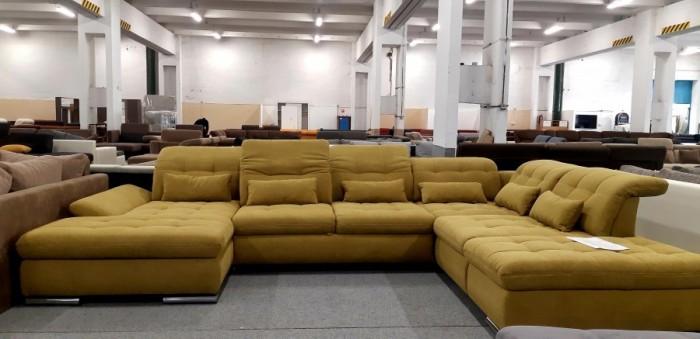 Sanfino U alakú ágyazható ülőgarnitúra - Luxus ülőgarnitúra