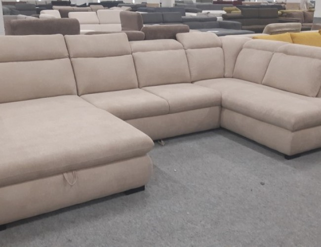 Bari I. U alakú ágyazható kanapé