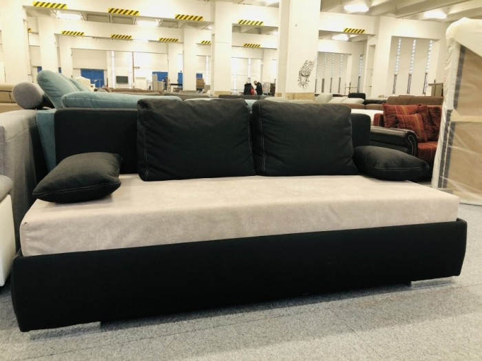 Blacky feketebézs kanapé - Bézs kanapék