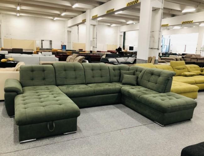 Bilbao U formájú ágyazható kanapé