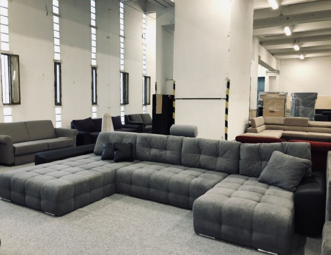 Anett U formájú luxus kanapé