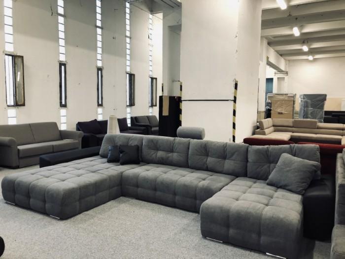 Anett U formájú luxus kanapé - Kanapék nagy színválasztékban