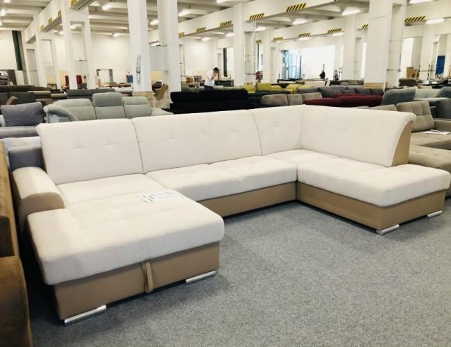 Bella U formájú luxus kanapé