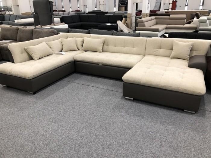 Caracas U alakú ágyazható kanapé -