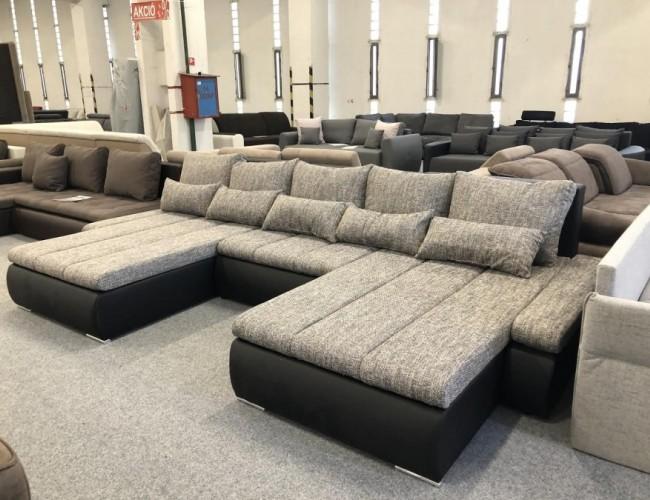 Alessia U formájú luxus kanapé