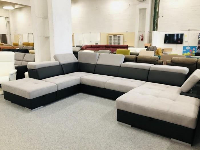 Reggio U formájú ágyazható kanapé -