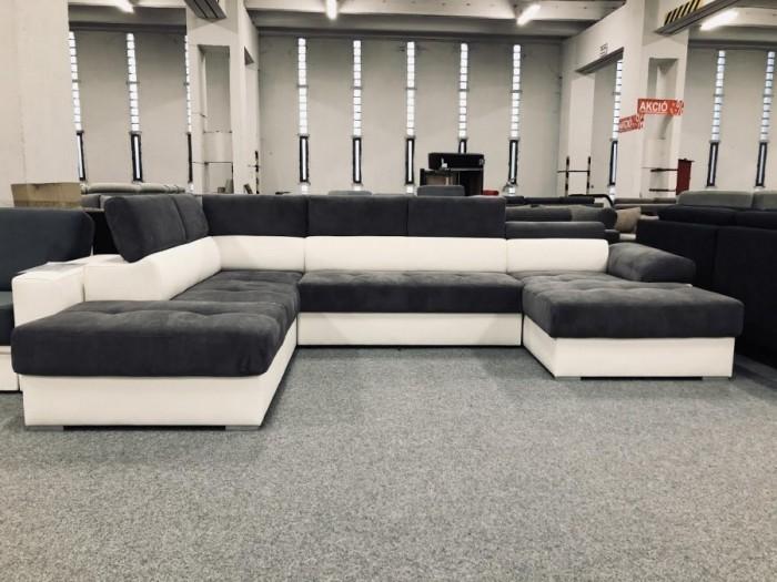 Aurora U formájú ágyazható kanapé -