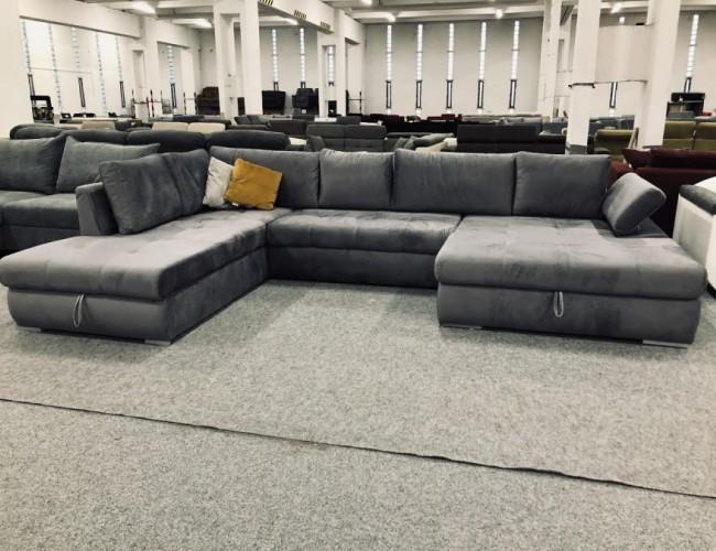 Hello U alakú kanapé