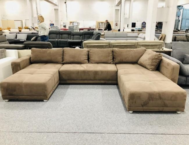 Florida U alakú kanapé