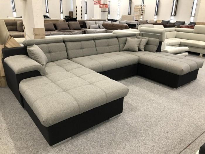 Monza U alakú ágyazható kanapé -