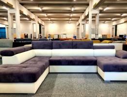 Aurora U formájú kanapé