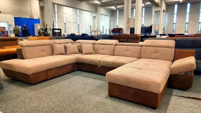 Madeira U formájú ágyazható kanapé - U alakú kanapé