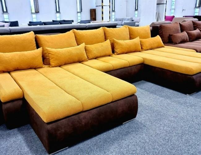 Aleska U formájú kanapé