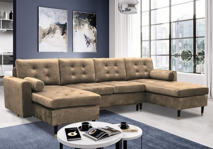 Dora U II. ágyazható sarokülő - Luxus kanapé