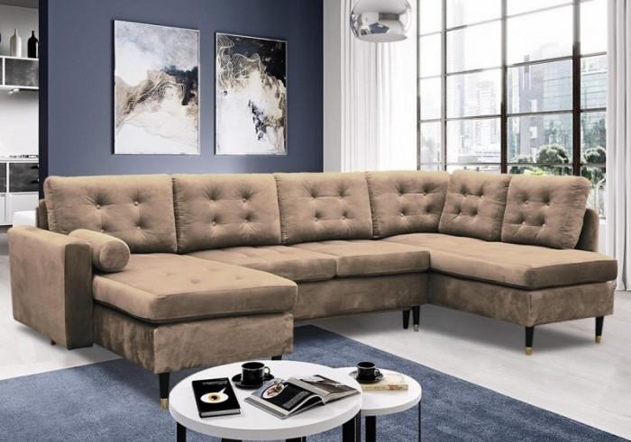 Dora U sarokülő - Luxus kanapé