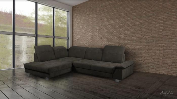 Alexandra sarokülő - Luxus kanapé
