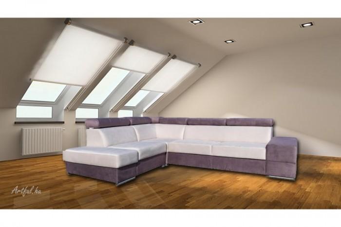 Elemento L sarokülő - Luxus kanapé