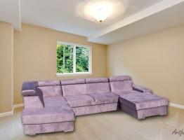 Elemento U formájú kanapé